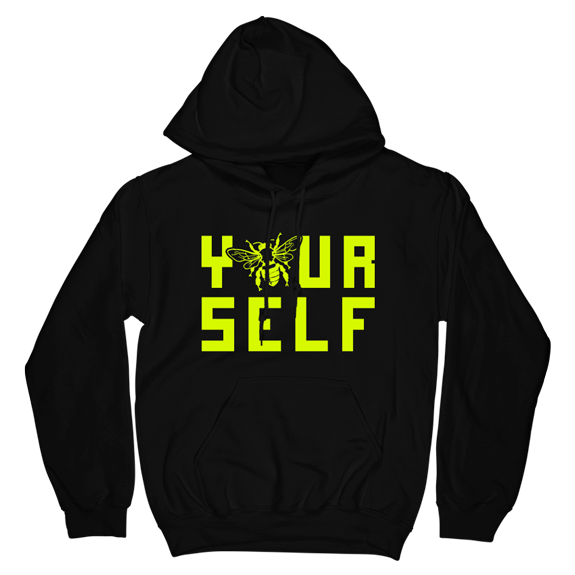 Hook And Porter Be Yourself Hoodie Black