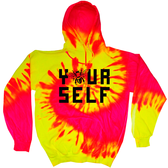 Hook And Porter Be Yourself Hoodie Neon Spark