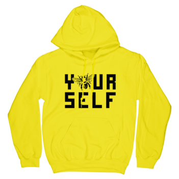 Hook And Porter Be Yourself Hoodie Neon Yellow