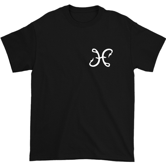 Hook And Porter Hooks Logo Tee Black