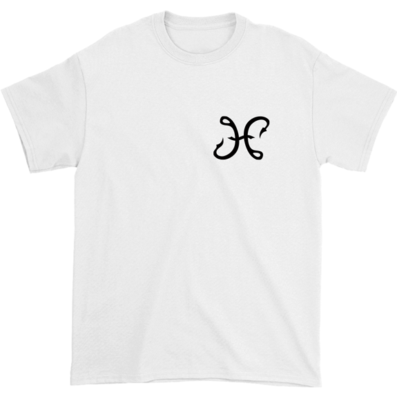 Hook And Porter Hooks Logo Tee White