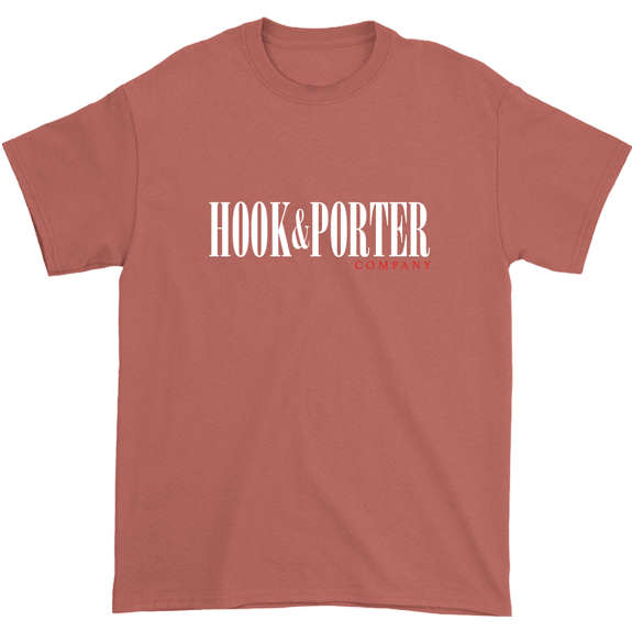 Hook & Porter Title Short Sleeve Tee Mauve