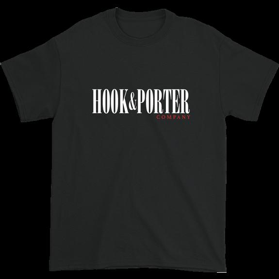 Hook & Porter Title Short Sleeve Tee Vintage Black